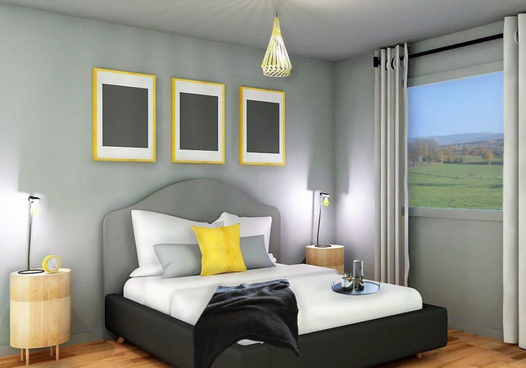 Chambre à coucher Perspective