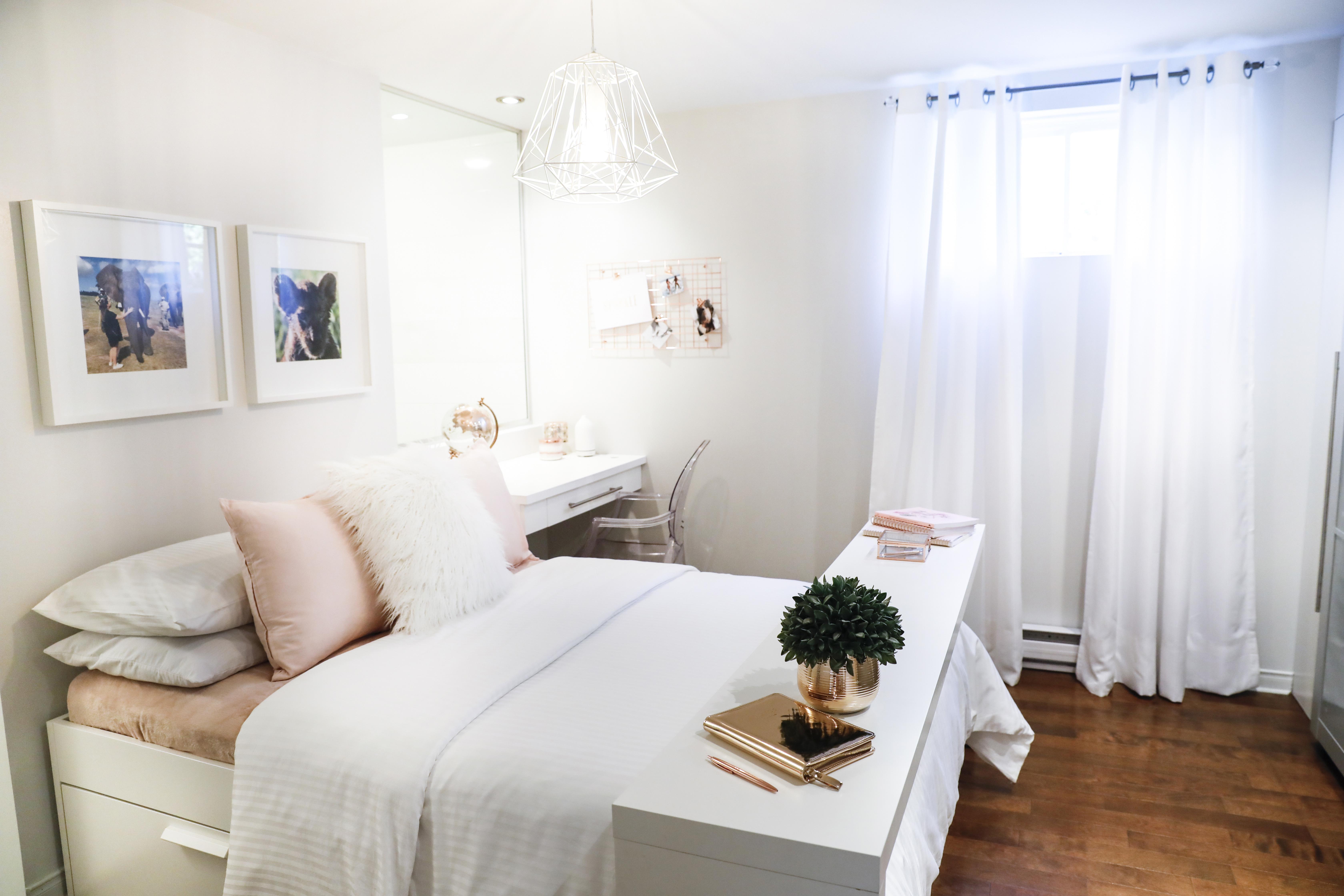 Chambre à coucher de style loft - La Zone Design
